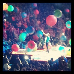 June 23, 2012 - #Coldplay at #AmericanAirlines, #amazeballs