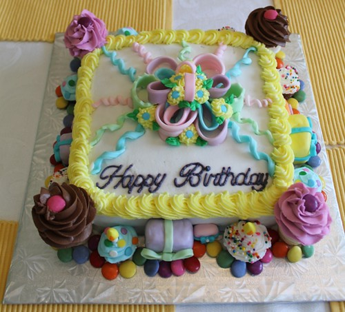 June birthday cake - 4