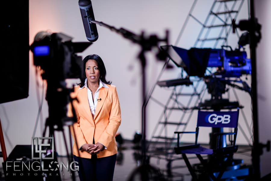 Behind the Scenes | On Location at GPB Studios | Atlanta Television Set Photographer