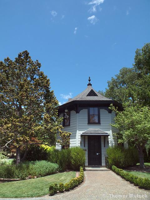 The Library at the Marin Art & Garden Center, Ross, Marin, California