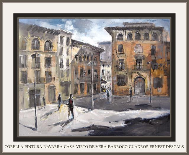 Corella pintura navarra casa virto de vera barroco cuadros - Cuadros de casas ...