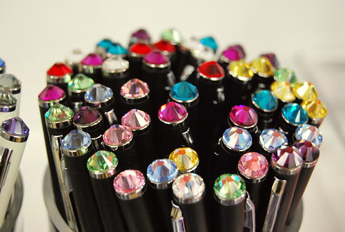 more sparkly pens