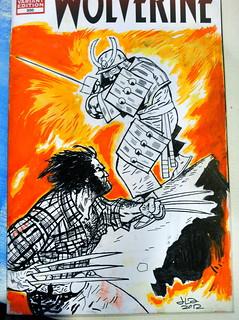 Heroes Con Silver Samurai.