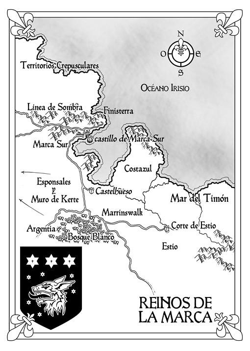 Mapa 4: Shadowmarch, La frontera de las sombras - Tad Williams - Ed. Alamut (pablouria.com)