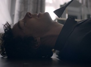 Sherlock ends up on the wrong end of Irene Adler's riding crop