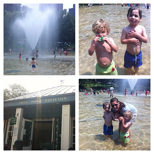 Had a blast at the Frog Pond Grand Opening today!