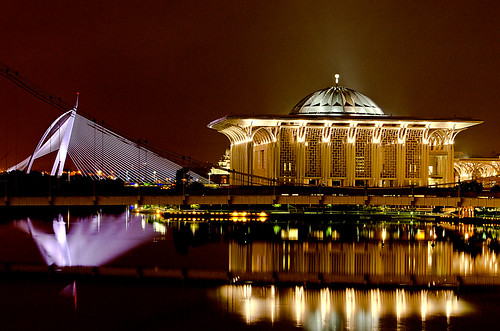 Putra Jaya Night Shot