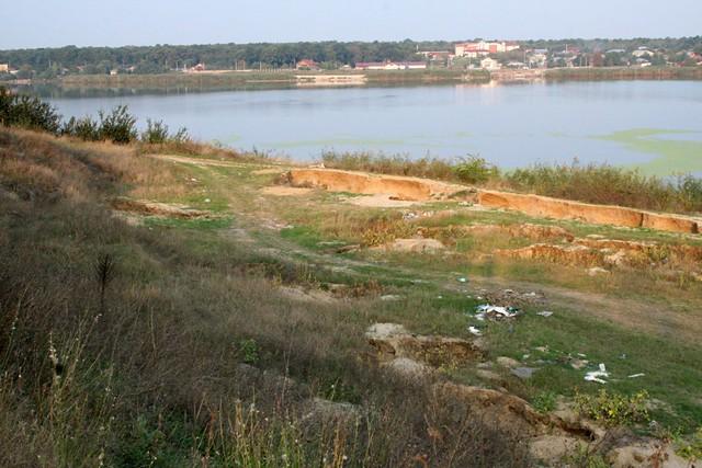 Bombardament in Caldararu, Cernica