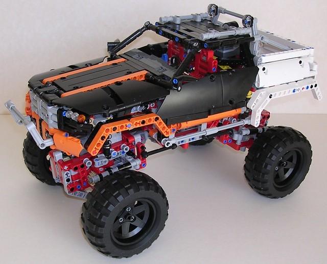 Lego technic 9398 4x4 crawler flickr photo sharing