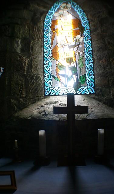 Inside St. Moluag's Church, Lewis