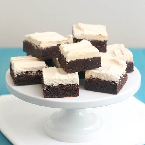 Caramel Kahlua Brownies