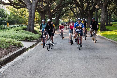 Buffalo Soldier National Museum Bike Ride in Houston, Texas 6/24/2012