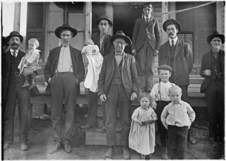Group of mill folks. All ages. Salisbury Cotton Mills. Salisbury, N.C., December 1908