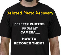 Recover deleted photo from camera