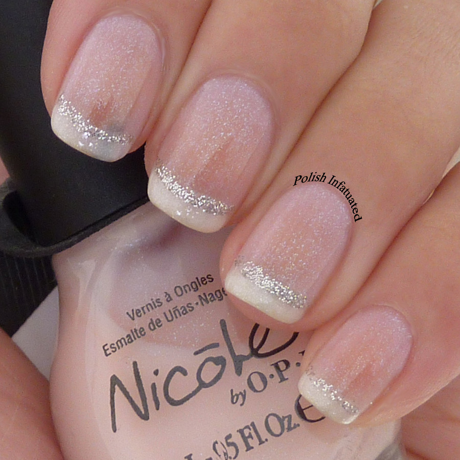 girly french manicure1