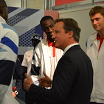 David Cameron: PM meets Team GB