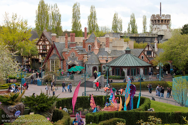 View from the Queen of Hearts Castle in Alice's Curious Labyrinth
