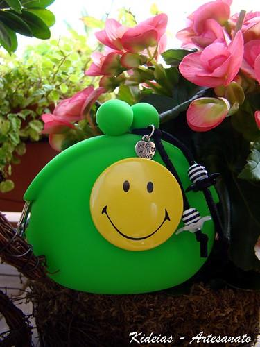 Porta Moedas Smile by kideias - Artesanato