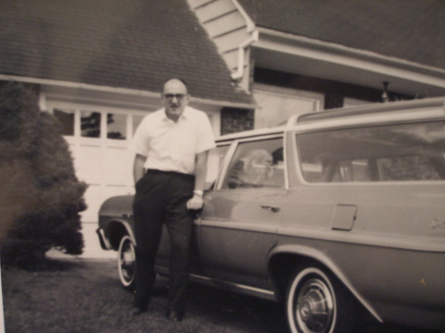 Dad and the station wagon