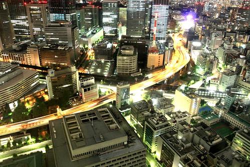 night TOKYO from Mandarin Oriental Tokyo Premier Grand Room