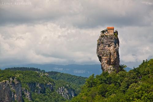 Katskhi Pillar by Levan Nioradze
