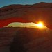 Beyond the light, Mesa Arch in Canyonlands, Utah by Robyn Hooz