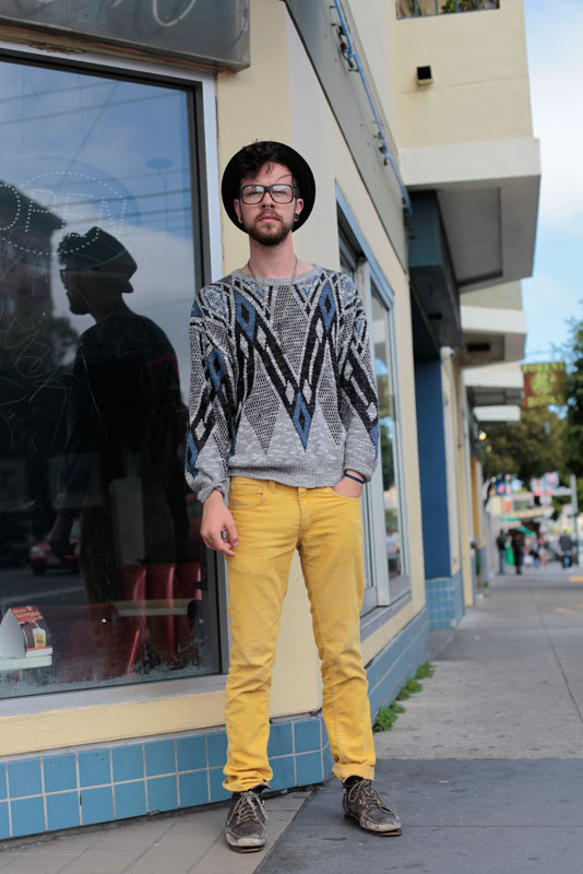 chevron san francisco street fashion style