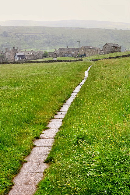 Path between Muker and Keld in Swaledale, Yorkshire