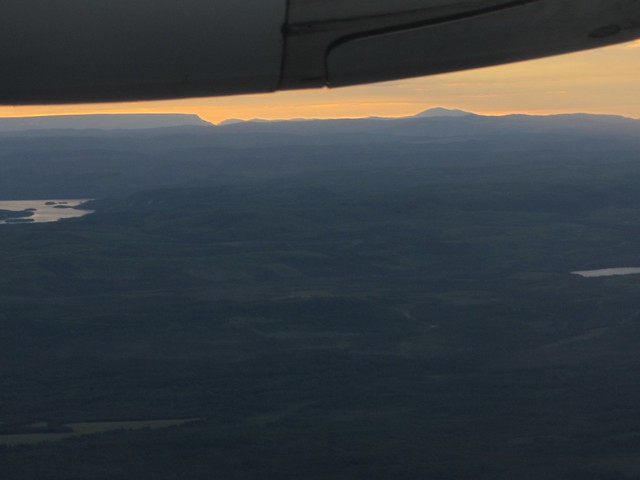 Gros Morne and Tablelands from the air