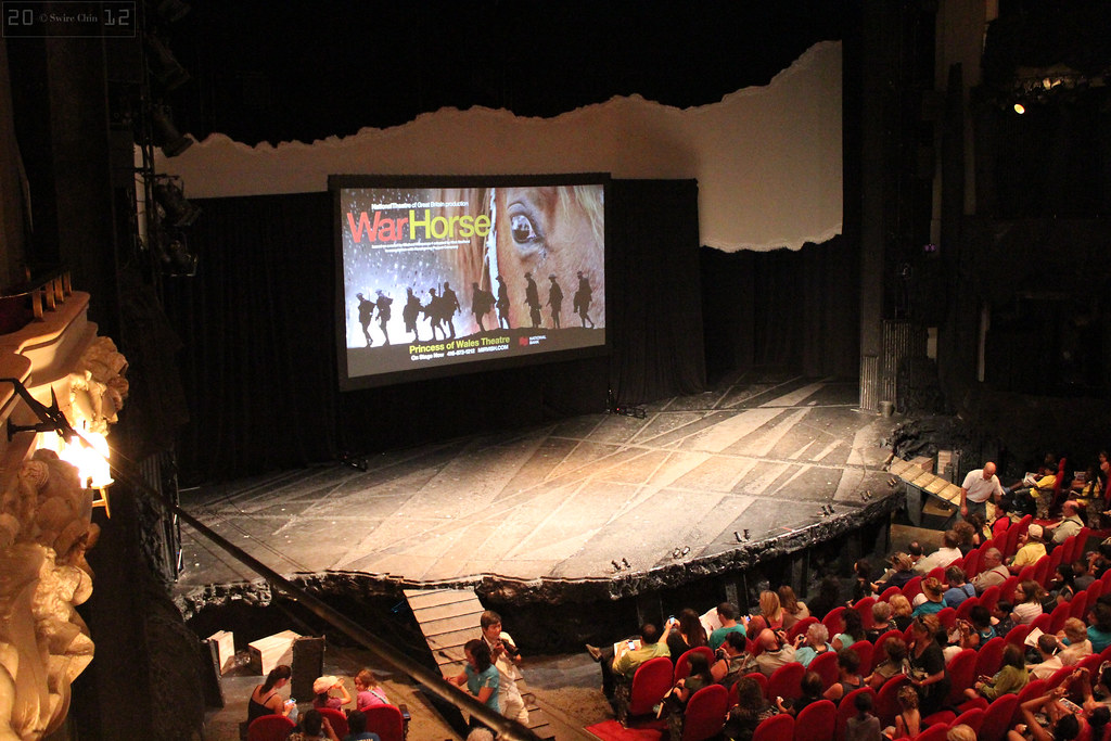 Inside Princess Of Wales Theatre