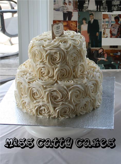 45th Anniversary Cake Flickr - Photo Sharing!