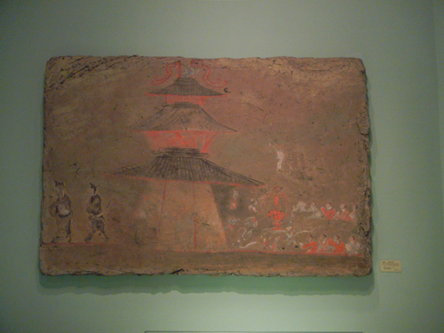 Tomb Wall Paintings - Liaoning (Province) Museum in Shenyang, China _ 9675