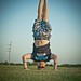 Fourth of July Headstand