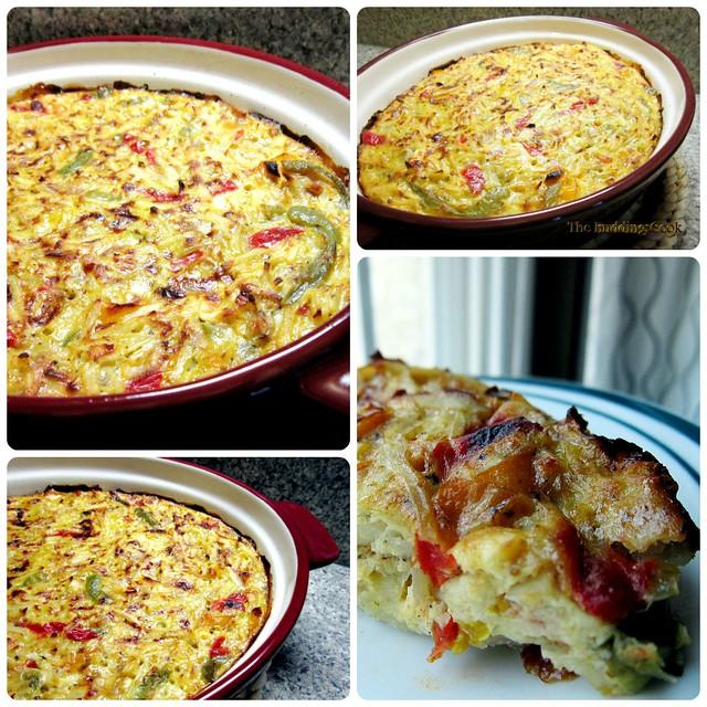 Potato casserole collage 4