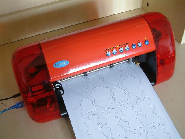 cutting machine for felt