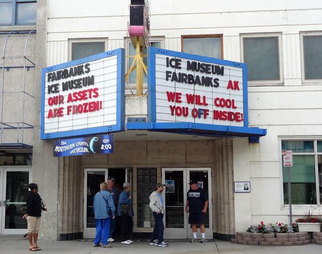 Fairbanks Ice Museum exterior