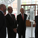 Brian Bowsher, HRH The Duke of Kent, Nicholas Marden and Sir Peter Williams