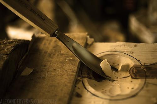 Carving Kuksas