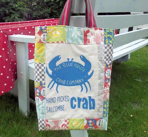 Blue House Crab Co Tote