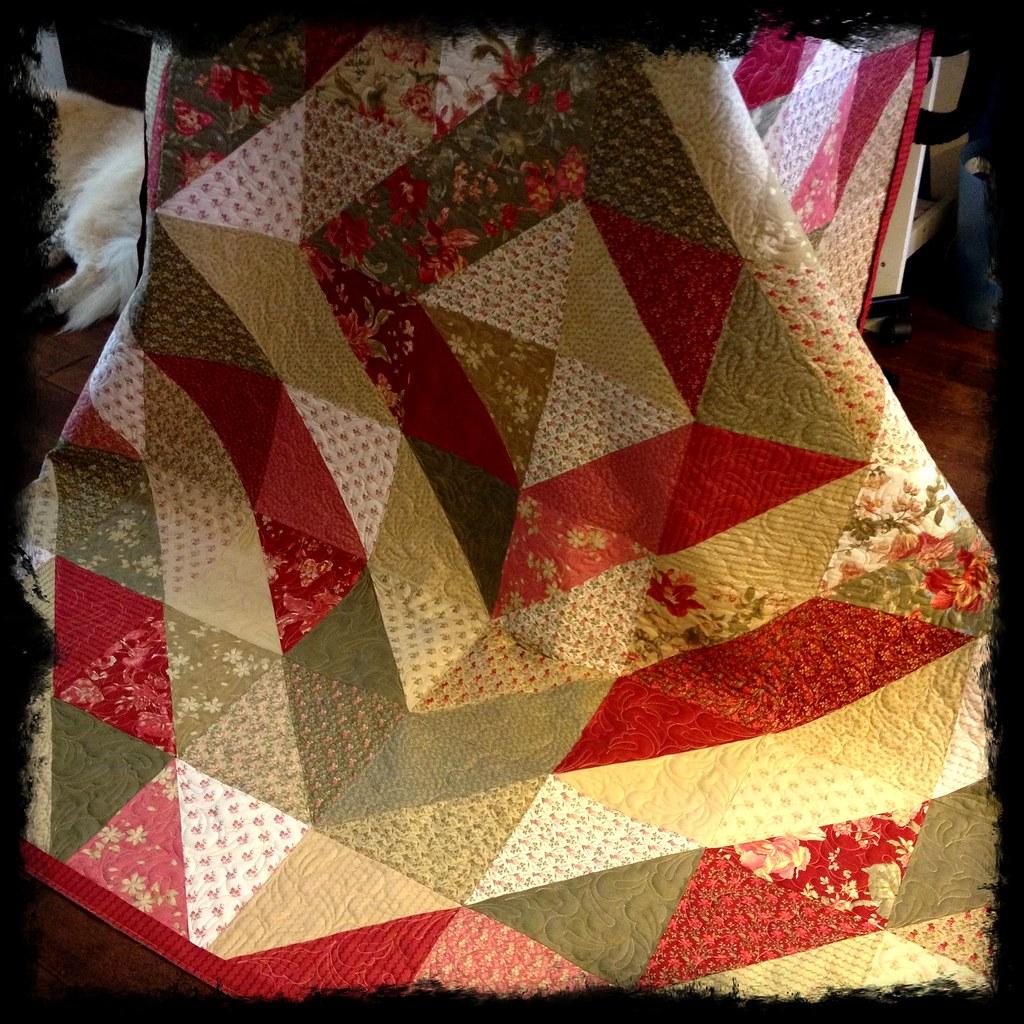The Dark Side…or Not Layer Cake Quilt Â« Moda Bake Shop : layer cake quilt patterns by moda - Adamdwight.com