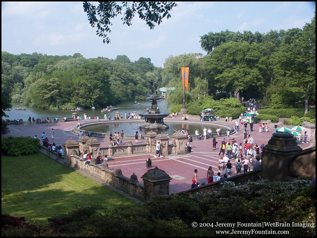 Bethesda Fountain @ Navy Terrace