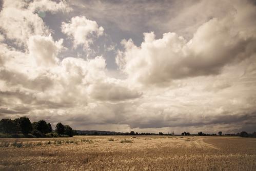 sky field clouds landscape geotagged deutschland bonn natur feld himmel wolken nrw tamron1750 flickraward platiniumheartaward