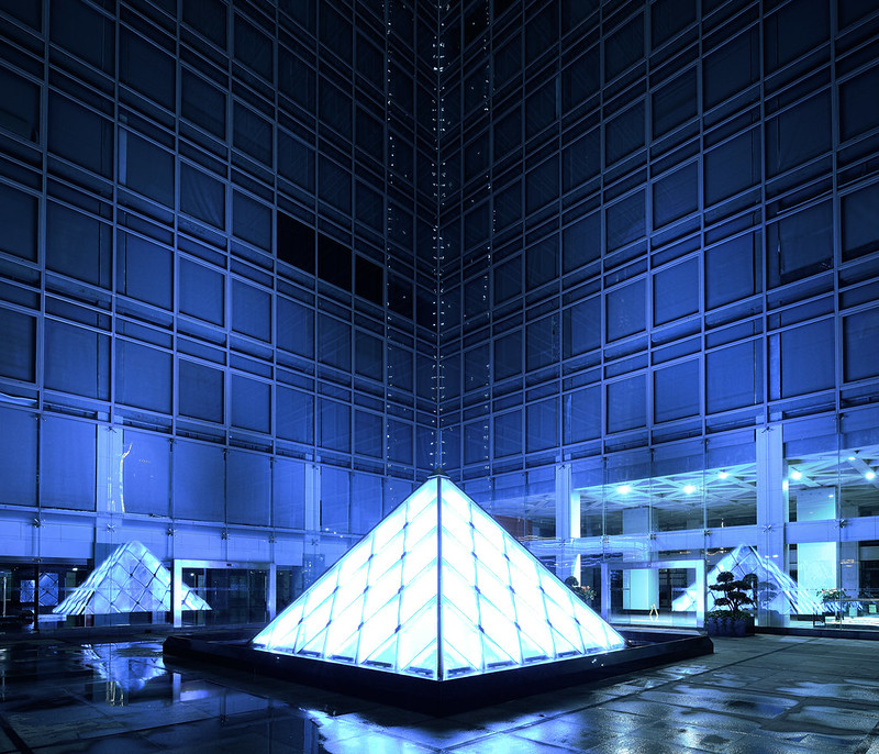 The Blue Pyramid.