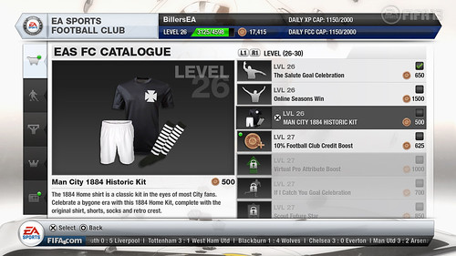 EA SPORTS Football Club Catalogue - FIFA 13