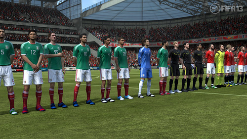 International Friendly - FIFA 13 Career Mode