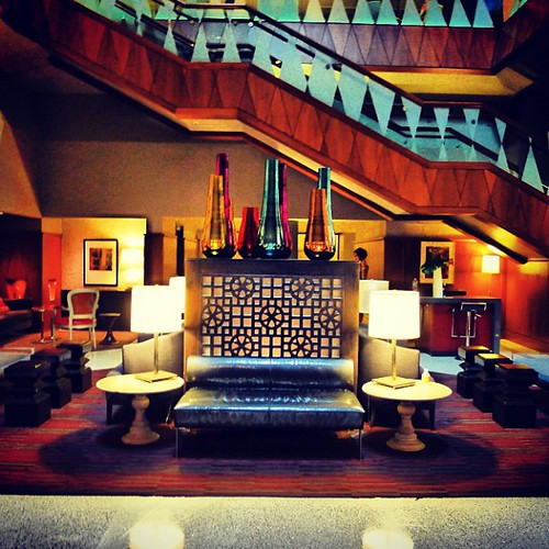 Magnolia Hotel Lobby Dallas