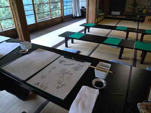 じっくり「写仏」体験しました@當麻寺中之坊(葛城市)