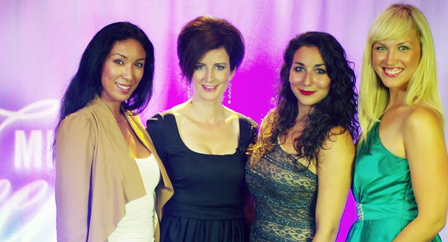 Toronto dentist, Dr Archer moderates Mentor Night during 2012 Miss Teenage Canada