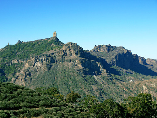 A Sunday Stroll From The Parador To Tejeda On Gran Canaria