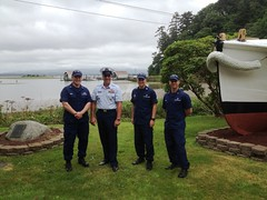 Station Cape Disappointment hosts Coast Guard senior leader